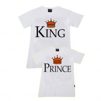 King, Prince Aile T-shirtleri