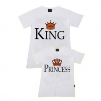 King, Princess Aile T-shirtleri