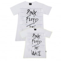 Pink Floyd - The Wall Baba - Kız Aile T-shirtleri
