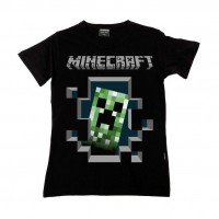 Mine Craft Bebek T-shirt