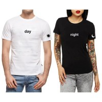 Day & Night  Çift T-shirt