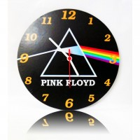 Pink Floyd - Dark Side of The Moon Ahşap Duvar Saati