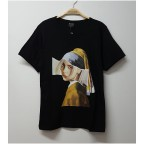 Art - Billie Eilish Girl with a Pearl Earring Unisex T-shirt