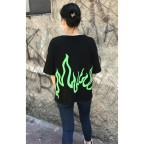 Billie Eilish Green Fire Unisex T-shirt