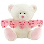 Neco Plush I Love You Thıs Much Kalpli Peluş Ayı 70 cm
