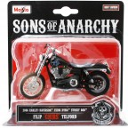 Maisto Sons Of Anarchy 2006 Harley Davidson CHIBS 1:18 Model Moto