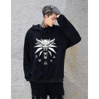 Witcher Logo Signs Unisex Kapüşonlu