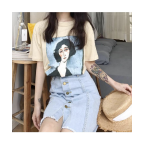 Watercolor Girl Unisex T-shirt