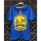 Ghetto NBA Golden State Warriors - Stephen Curry 30 Kapşonlu Unisex T-shirt