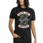 Riverdale - South Side Serpents 3XL Büyük Beden T-shirt