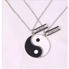 Best Friends Ying Yang Kolye